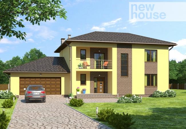 Каталог проектов домов - Дома для одной семьи - LĪVA 2