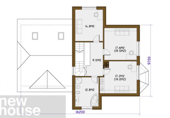 Каталог проектов домов - Дома для одной семьи - ZANDA