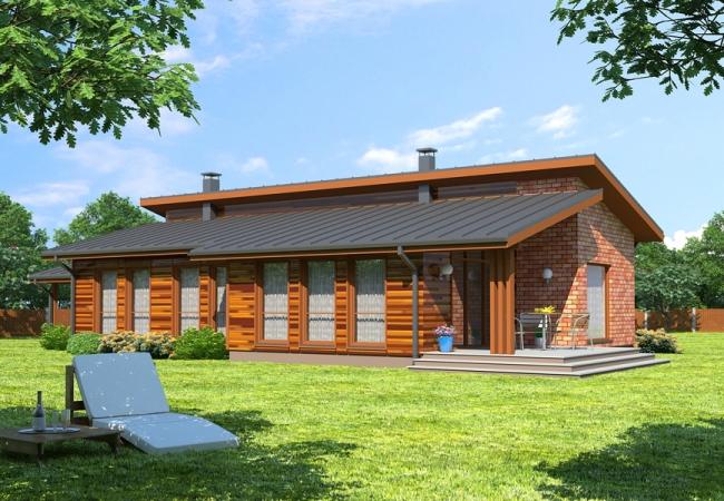 Каталог проектов домов - Дома для одной семьи - TUKUMS