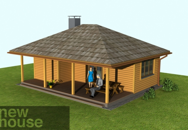 Каталог проектов домов - Бани - ANCE