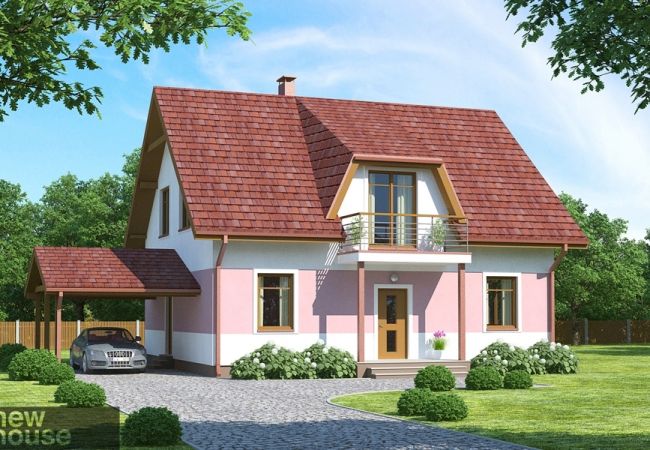Каталог проектов домов - Дома для одной семьи - GULBENE 2