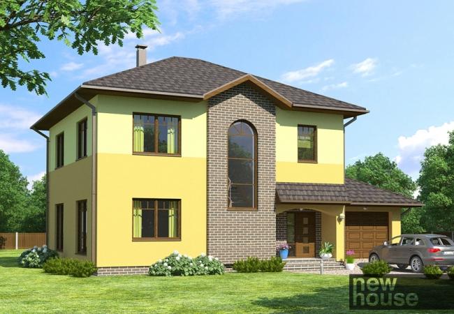 Каталог проектов домов - Дома для одной семьи - VIKIJA