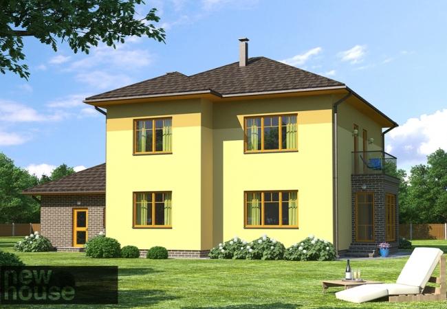 Каталог проектов домов - Дома для одной семьи - INESE