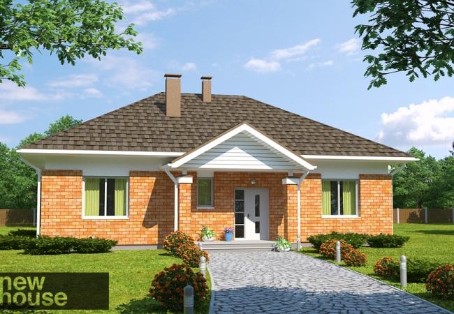 Каталог проектов домов - Дома для одной семьи - EVELĪNA