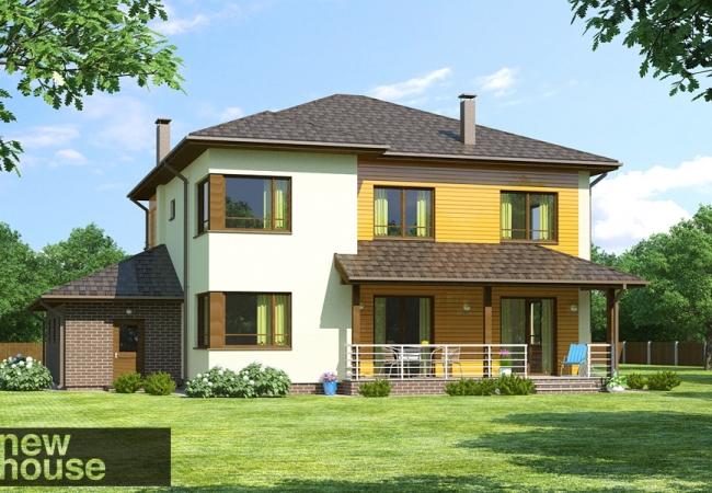 Māju projektu katalogs - Vienas ģimenes mājas - KAIRA