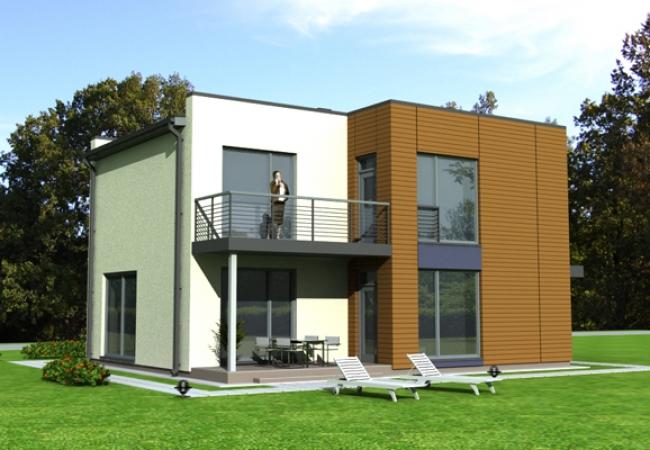 Каталог проектов домов - Дома для одной семьи - MONIKA