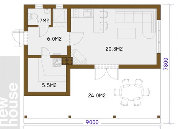 Māju projektu katalogs - Pirts projekti - ANCE