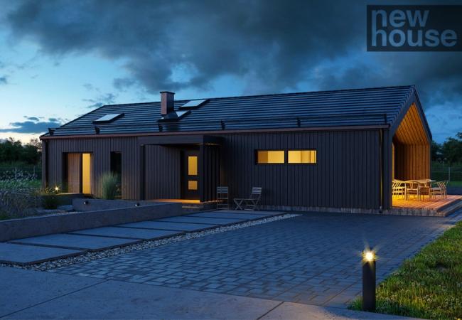 Каталог проектов домов - Дома для одной семьи - LM12