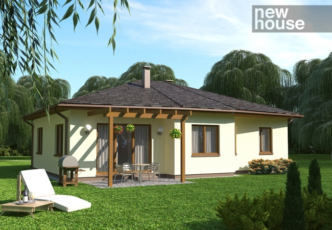 Каталог проектов домов - Дома для одной семьи - INGUNA 1