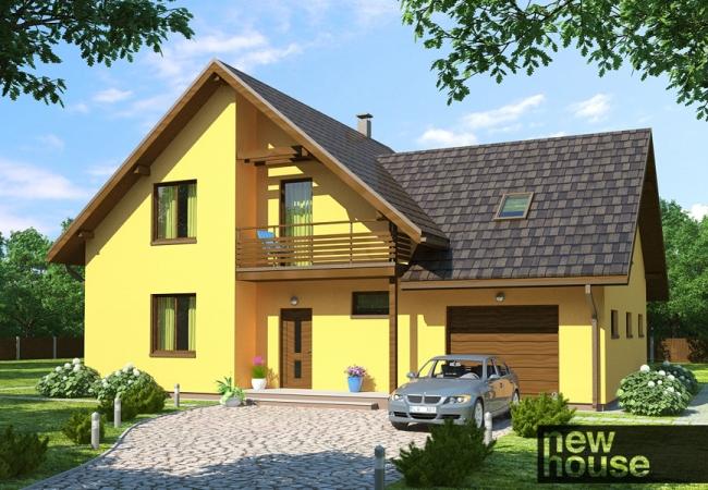 Māju projektu katalogs - Vienas ģimenes mājas - SAULE