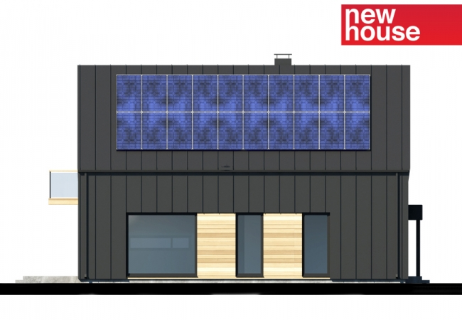 Каталог проектов домов - Дома для одной семьи - Māja LM11