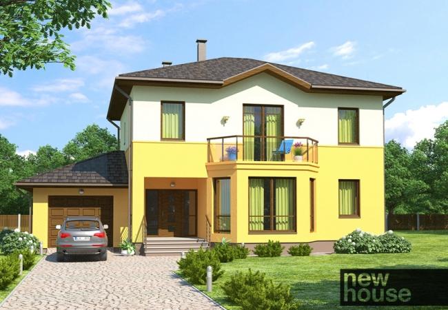 Каталог проектов домов - Дома для одной семьи - BELLA