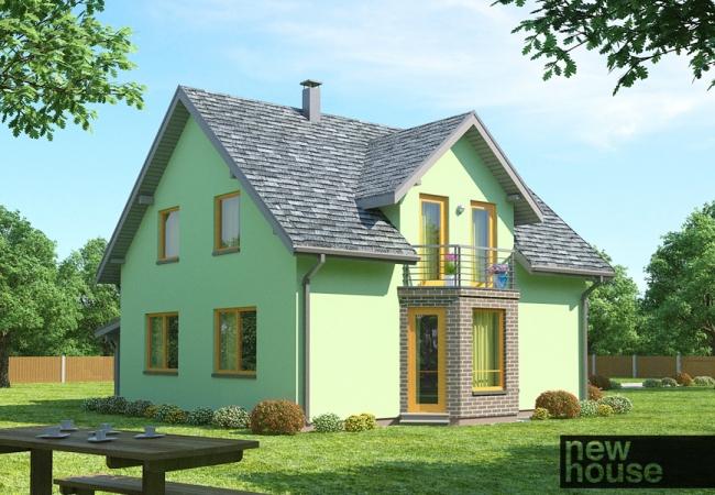 Каталог проектов домов - Дома для одной семьи - LINDA