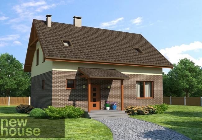 Māju projektu katalogs - Vienas ģimenes mājas - SAULKRASTI