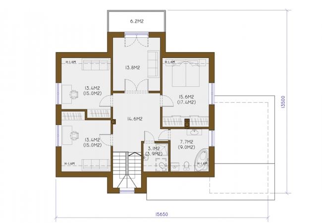 Māju projektu katalogs - Vienas ģimenes mājas - DACE