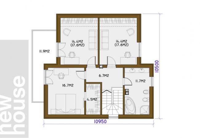 Māju projektu katalogs - Vienas ģimenes mājas - ARTA1