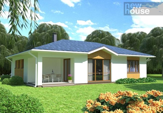 Каталог проектов домов - Дома для одной семьи - LIEPA