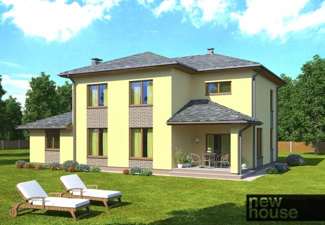 Каталог проектов домов - Дома для одной семьи - LĪVA