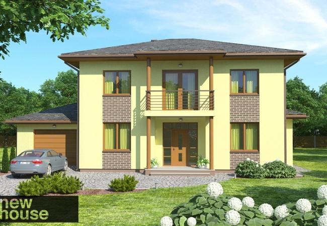 Каталог проектов домов - Дома для одной семьи - KATE