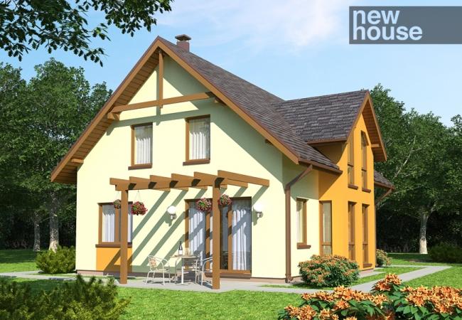 Māju projektu katalogs - Vienas ģimenes mājas - KRISTĪNE
