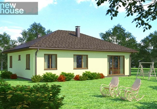Каталог проектов домов - Дома для одной семьи - LAINE