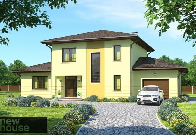 Māju projektu katalogs - Vienas ģimenes mājas - DAGMĀRA