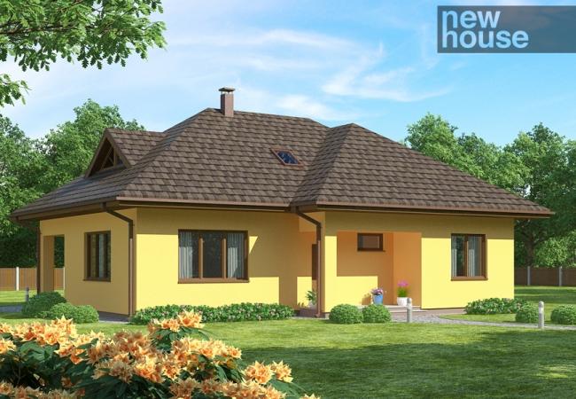 Māju projektu katalogs - Vienas ģimenes mājas - RENĀTE