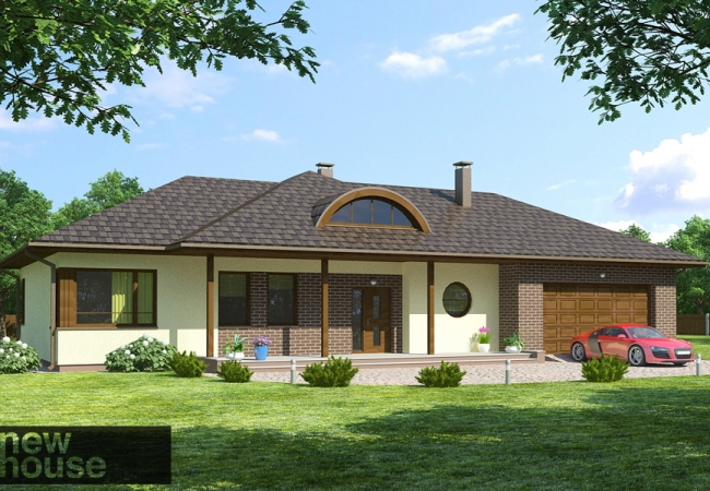 Māju projektu katalogs - Vienas ģimenes mājas - BAUSKA