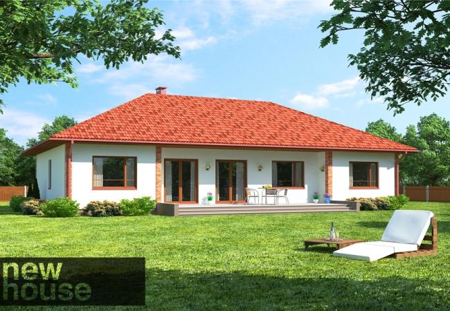 Каталог проектов домов - Дома для одной семьи - MAJA LM1