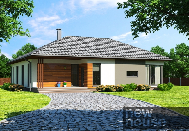 Каталог проектов домов - Дома для одной семьи - MAJA LM2