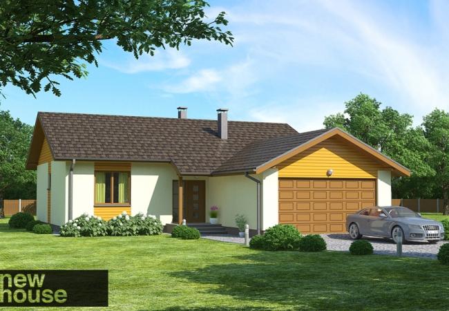 Каталог проектов домов - Дома для одной семьи - LAILA