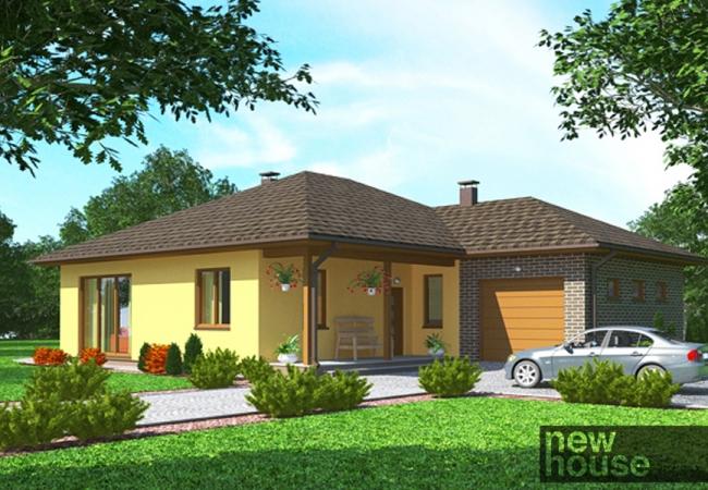 Māju projektu katalogs - Vienas ģimenes mājas - AMANDA