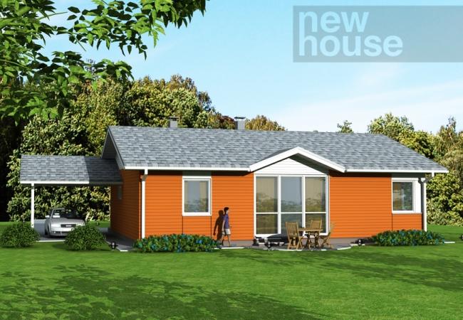 Māju projektu katalogs - Vienas ģimenes mājas - GUNDEGA
