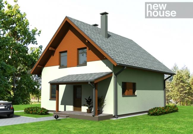 Каталог проектов домов - Дома для одной семьи - ANETE