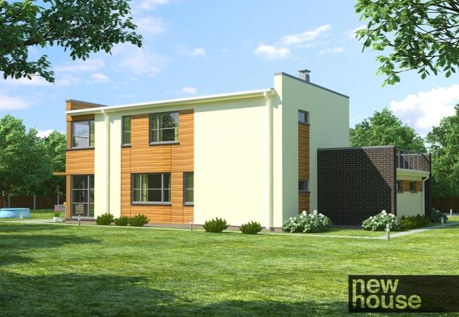 Каталог проектов домов - Дома для одной семьи - ALFA