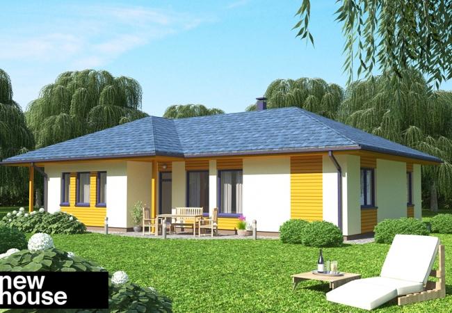 Каталог проектов домов - Дома для одной семьи - SIGNE