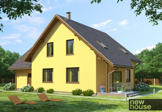 Каталог проектов домов - Дома для одной семьи - SAULE