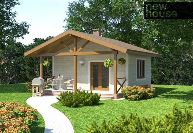 Каталог проектов домов - Бани - LEILA