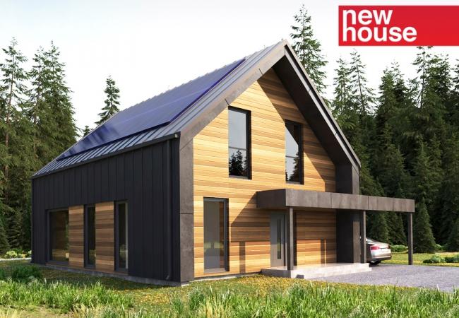 Māju projektu katalogs - Vienas ģimenes mājas - Māja LM11