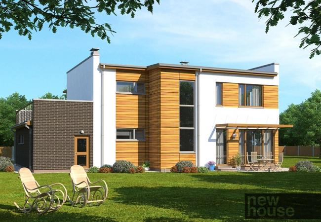 Каталог проектов домов - Дома для одной семьи - KATRĪNA