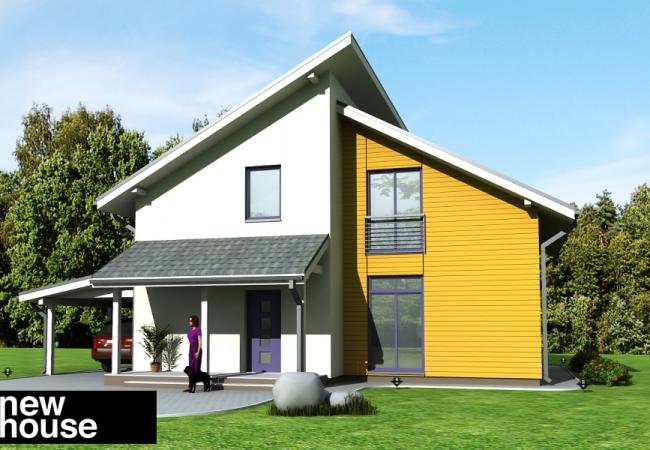 Каталог проектов домов - Дома для одной семьи - ARTA1