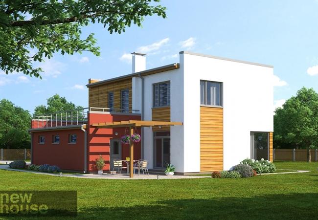 Каталог проектов домов - Дома для одной семьи - DAIRA