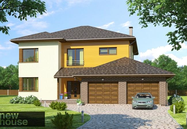 Каталог проектов домов - Дома для одной семьи - KAIRA