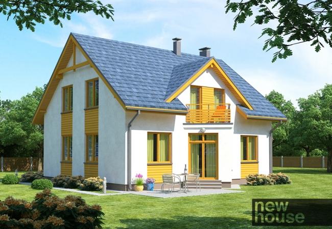 Māju projektu katalogs - Vienas ģimenes mājas - ZITA